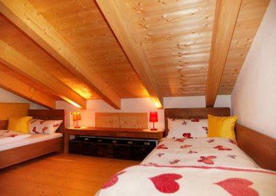 Riesengroß das zweite Schlafzimmer bzw. Kinderzimmer