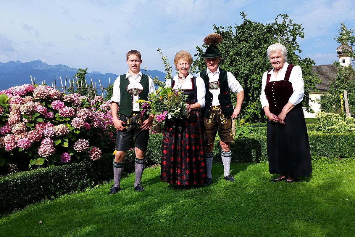 Ihre Gastgeber Familie Niederthanner freut sich auf Ihren Besuch