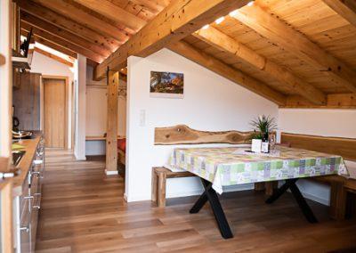 FeWo Kranzhorn_Esszimmer Küche
